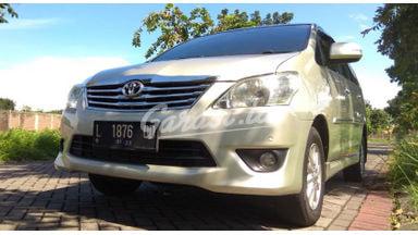 2012 Toyota Kijang Innova V - Siap Pakai Dan Mulus
