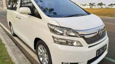2013 Toyota Vellfire G LIMITED - SIAP PAKAI!