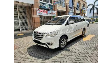 2014 Toyota Kijang Innova V Luxury - Service Record Full Garansi