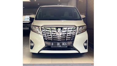 2015 Toyota Alphard G - Low Km Like New