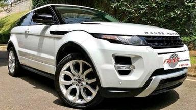 2012 Land Rover Range Rover Evoque Dynamic Lux coupe - Bekas Berkualitas