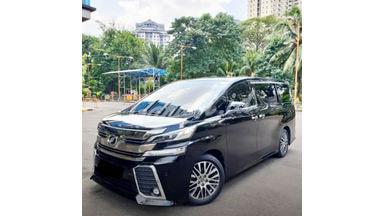 2015 Toyota Vellfire ZG - Mobil Pilihan