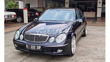 2004 Mercedes Benz E-Class W211 Advantgarde