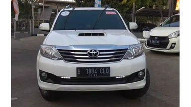 2014 Toyota Fortuner g - harga khusus kredit