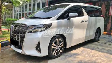 2018 Toyota Alphard G - Mobil Pilihan