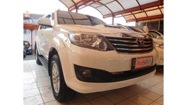 2013 Toyota Fortuner G VNT - Kondisi Mulus Tinggal Pakai