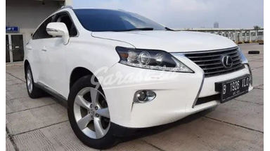2012 Lexus RX RX270 - Proses Cepat Tanpa Ribet