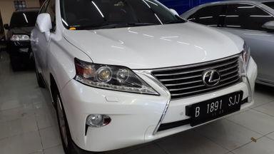 2012 Lexus RX - Siap Pakai & Nego