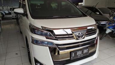 2018 Toyota Vellfire G - Sangat Istimewa