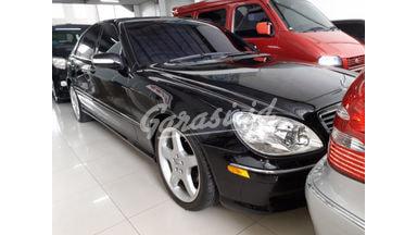 2002 Mercedes Benz S-Class S500