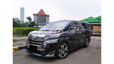 2018 Toyota Vellfire G ATPM - Mobil Pilihan