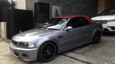 Bmw M Series >> Jual Mobil Bekas 2002 Bmw M Series M3 Convertible Jakarta Selatan 00dh637 Garasi Id