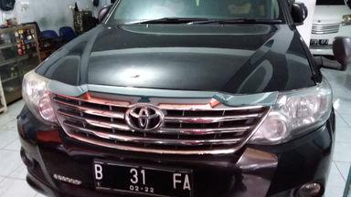2011 Toyota Fortuner G - Unit Siap Pakai (s-0)