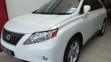 2012 Lexus RX - Siap Pakai Mulus Banget