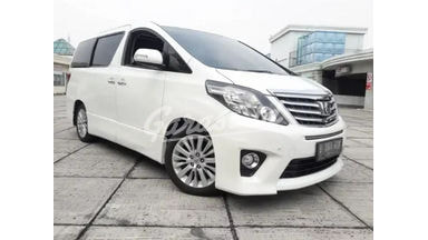 2013 Toyota Alphard SC - Barang Bagus Dan Harga Menarik
