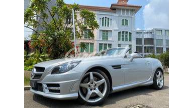 2012 Mercedes Benz Slk AMG - Bright Silver On Red Full AMG Package