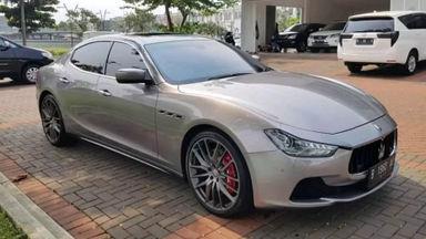 2016 Maserati Ghibli S - UNIT TERAWAT, SIAP PAKAI, NO PR