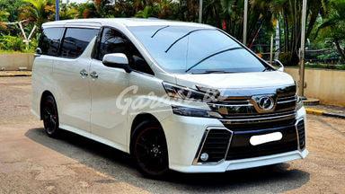 2015 Toyota Vellfire Z Audioless - Mobil Pilihan