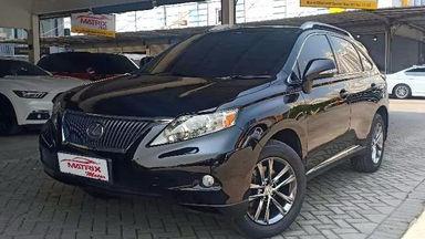 2012 Lexus RX RX270 - SIAP PAKAI!