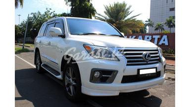 2012 Lexus LX 570 - JUAL CEPAT MOBIL SULTAN YANG GAGAH DAN TERAWAT KONDISINYA