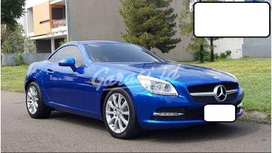 2014 Mercedes Benz Slk SEDAN - SIAP PAKAI