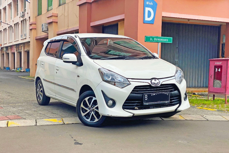 2017 Toyota Agya G