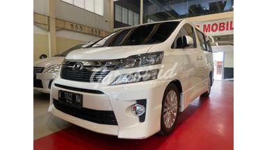 2013 Toyota Vellfire ZG Premium sound