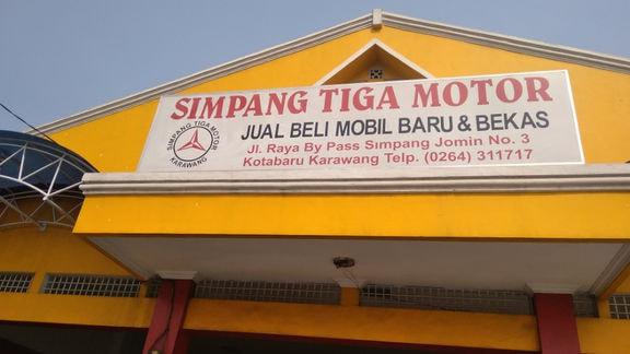 Simpang Tiga Motor 3