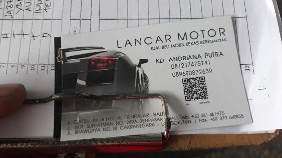 Lancar motor ( agen bali )