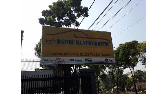BAMBU KUNING MOTOR1