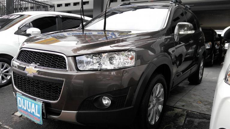 Jual Mobil Bekas 2013 Chevrolet Captiva 2 0 Jakarta Timur