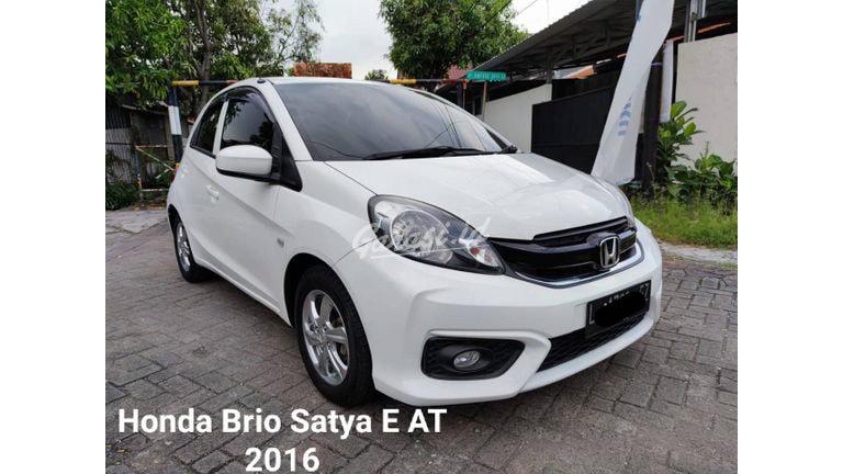 2016 Honda Brio Satya E - Matic Pitih Pkt Krdt TDP 16jt (preview-0)