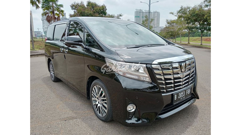 2017 Toyota Alphard G (preview-0)