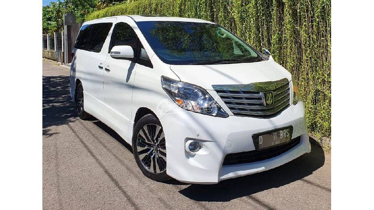 2009 Toyota Alphard S Audioless - Mulus Banget (preview-0)