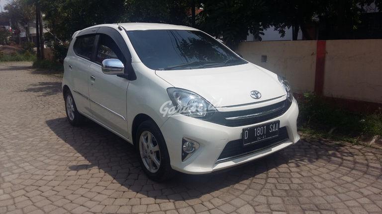 Jual Mobil Bekas 2016 Toyota Agya G Kota Bandung 00cy917 Garasi Id