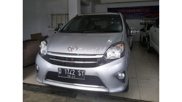 Jual Mobil Bekas 2015 Toyota Agya Trd Sportivo 1 2 Mt Kota Bandung