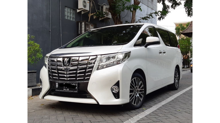 2017 Toyota Alphard G - Istimewa, Terawat, Siap Pakai (preview-0)