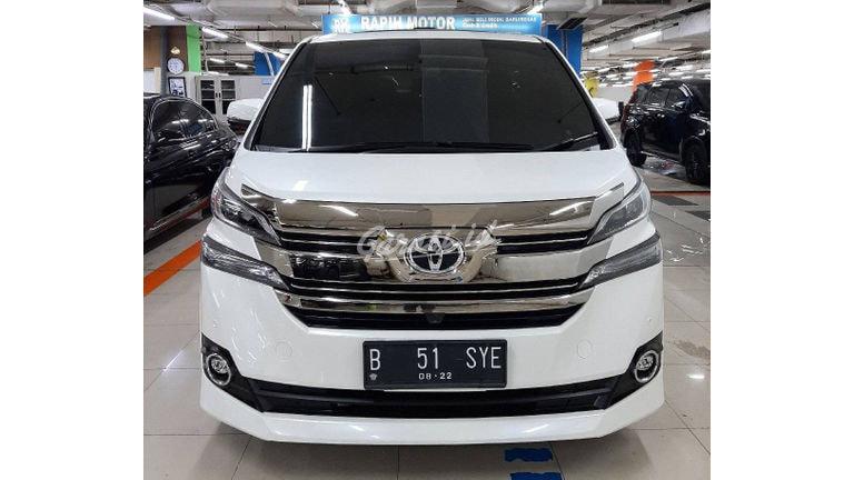 2017 Toyota Vellfire G - Mobil Pilihan (preview-0)