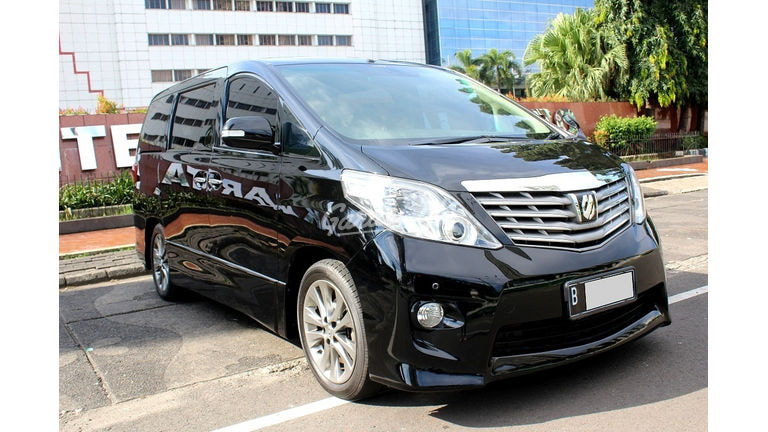 2010 Toyota Alphard S Audio Less - Mulus Terawat (preview-0)