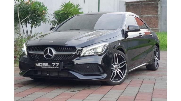 2018 Mercedes Benz CLA-Class 200 amg - Mulus Pemakaian Pribadi (preview-0)