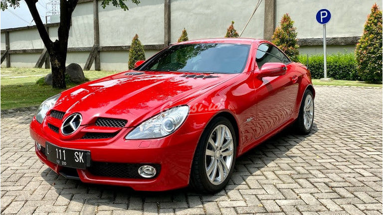 2010 Mercedes Benz Slk Grand Edition - Bekas Berkualitas (preview-0)