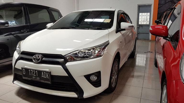 2015 Toyota Yaris g - bagus mulus (preview-0)
