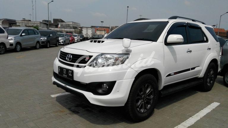 Jual Mobil Bekas 2014 Toyota Fortuner G Kota Bogor 00bs453 Garasi Id