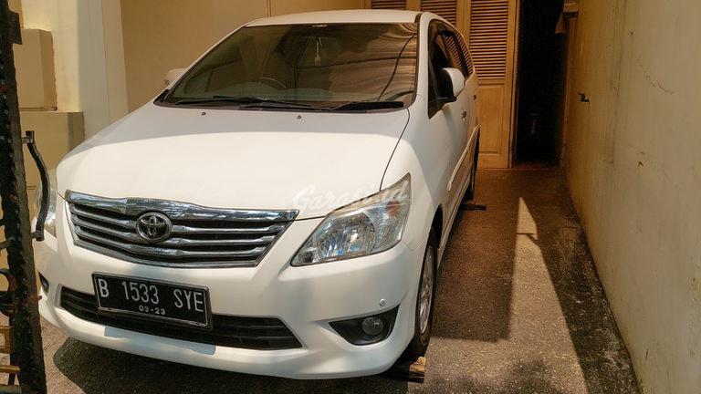 2013 Toyota Kijang Innova V - Full Orisinal Seperti Baru (preview-0)