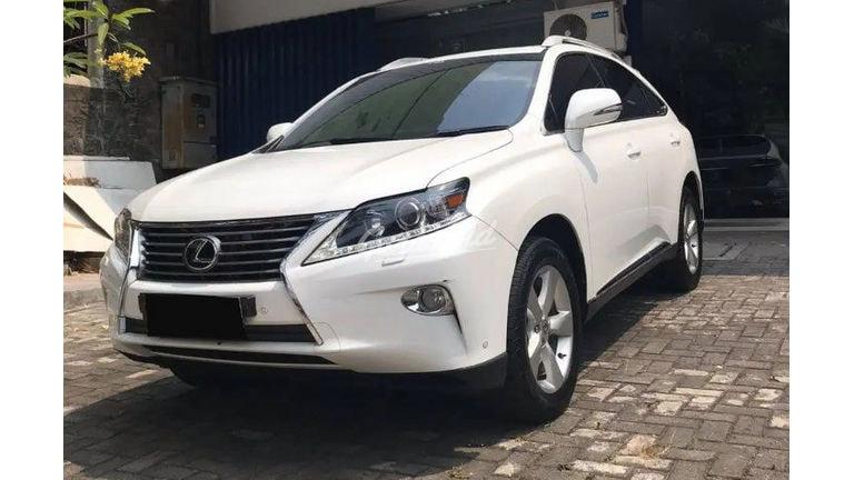 2013 Lexus RX 270 ULTIMATE - Garang Full Perawatan Bisa Kredit (preview-0)