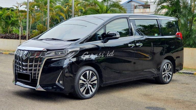 2018 Toyota Alphard x - Mobil Pilihan (preview-0)