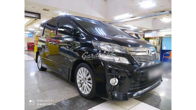 2013 Toyota Vellfire ZG AUDIOLES - Siap Pakai (preview-0)