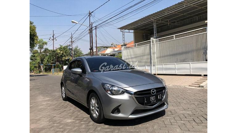 """2014 Mazda 2 R Skyactive - Thn 2014/ Pmk'15 Silver """"KM 55rb Record"""" (preview-0)"""