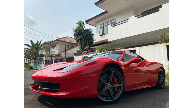 2013 Ferrari 458 Italia COUPE ITALIA - Mewah Berkualitas Siap Pakai (preview-0)