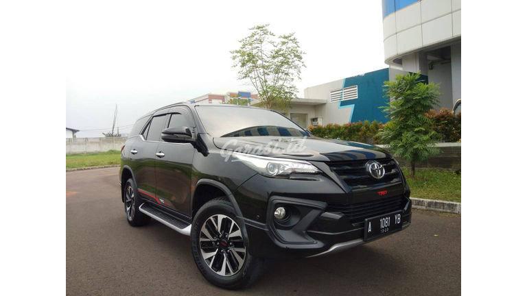 2018 Toyota Fortuner VRZ TRD - TOYOTA VRZ TRD AT DIESEL 2018 HITAM (preview-0)